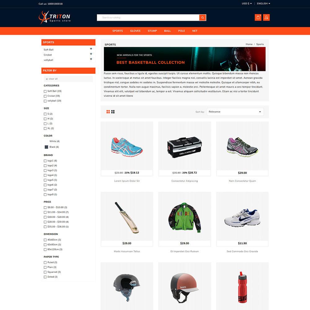 theme - Sports, Activities & Travel - Triton Sport & Activities Store - 3
