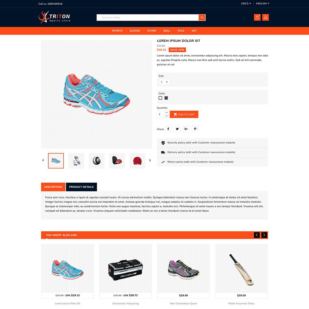 theme - Sports, Activities & Travel - Triton Sport & Activities Store - 4