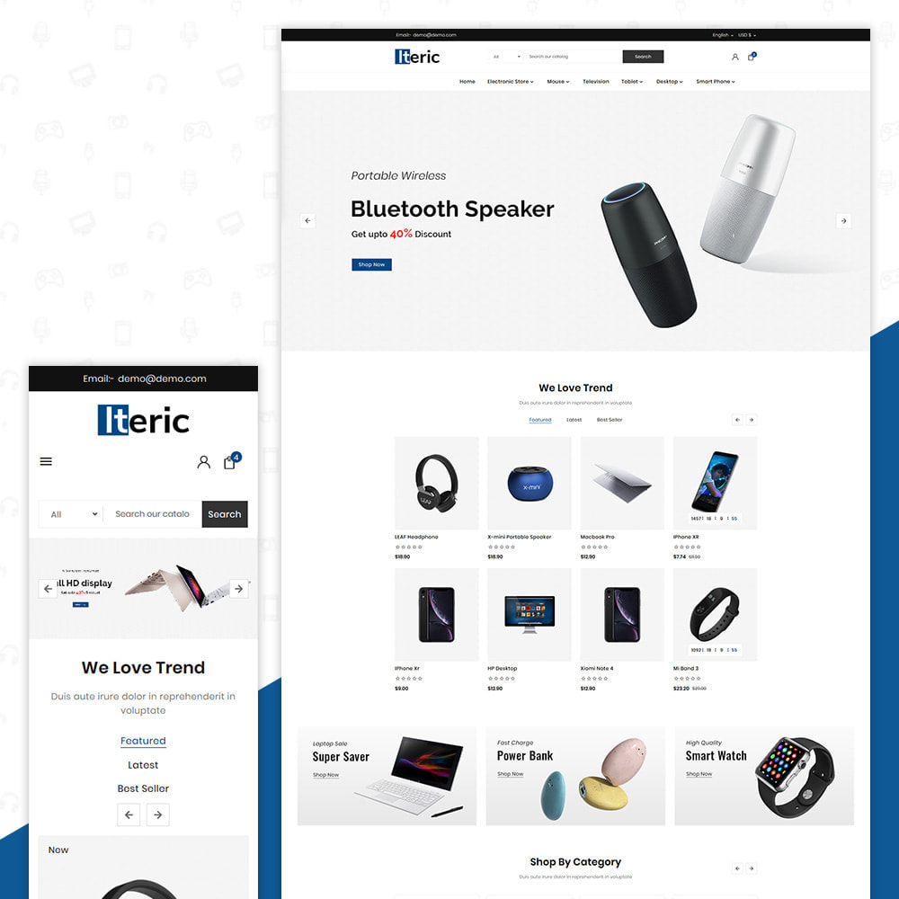 theme - Electronics & Computers - Electro Iteric - Electronic Store - 1