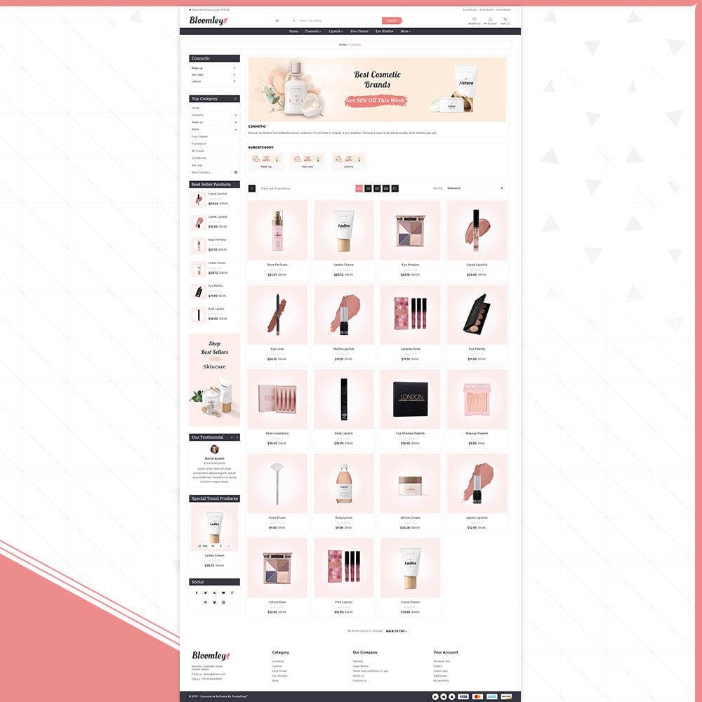 theme - Health & Beauty - Cosmatic Bloomley – Cosmatic Shop - 3