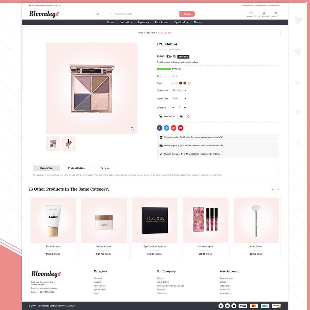 theme - Health & Beauty - Cosmatic Bloomley – Cosmatic Shop - 4