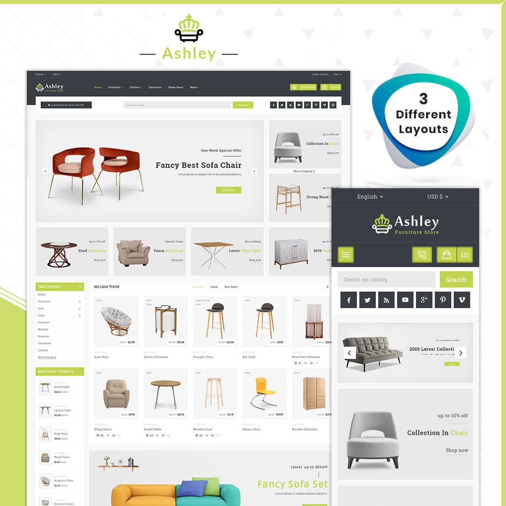 theme - Home & Garden - Wood Ashley- Furniture Shop - 1