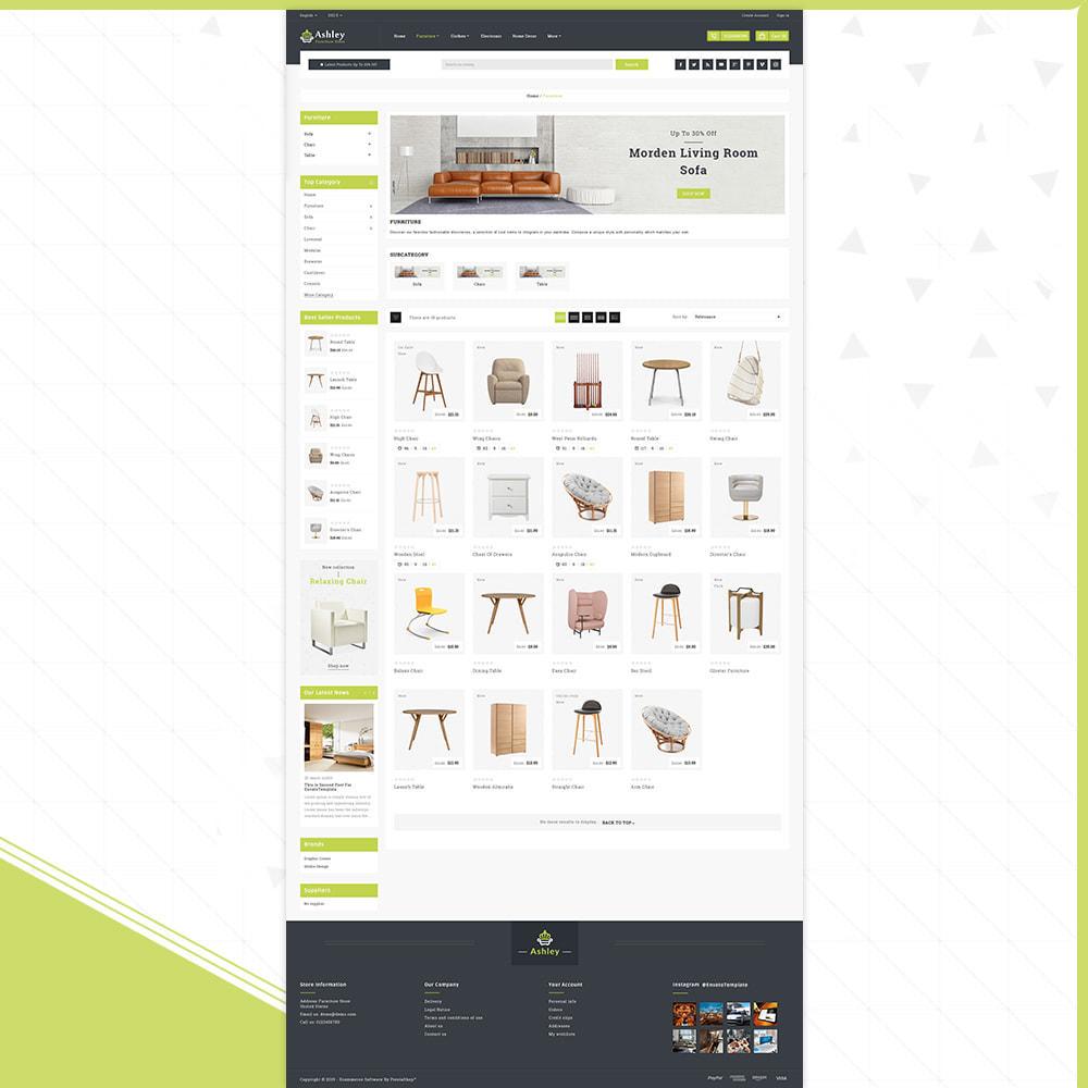 theme - Home & Garden - Wood Ashley- Furniture Shop - 3