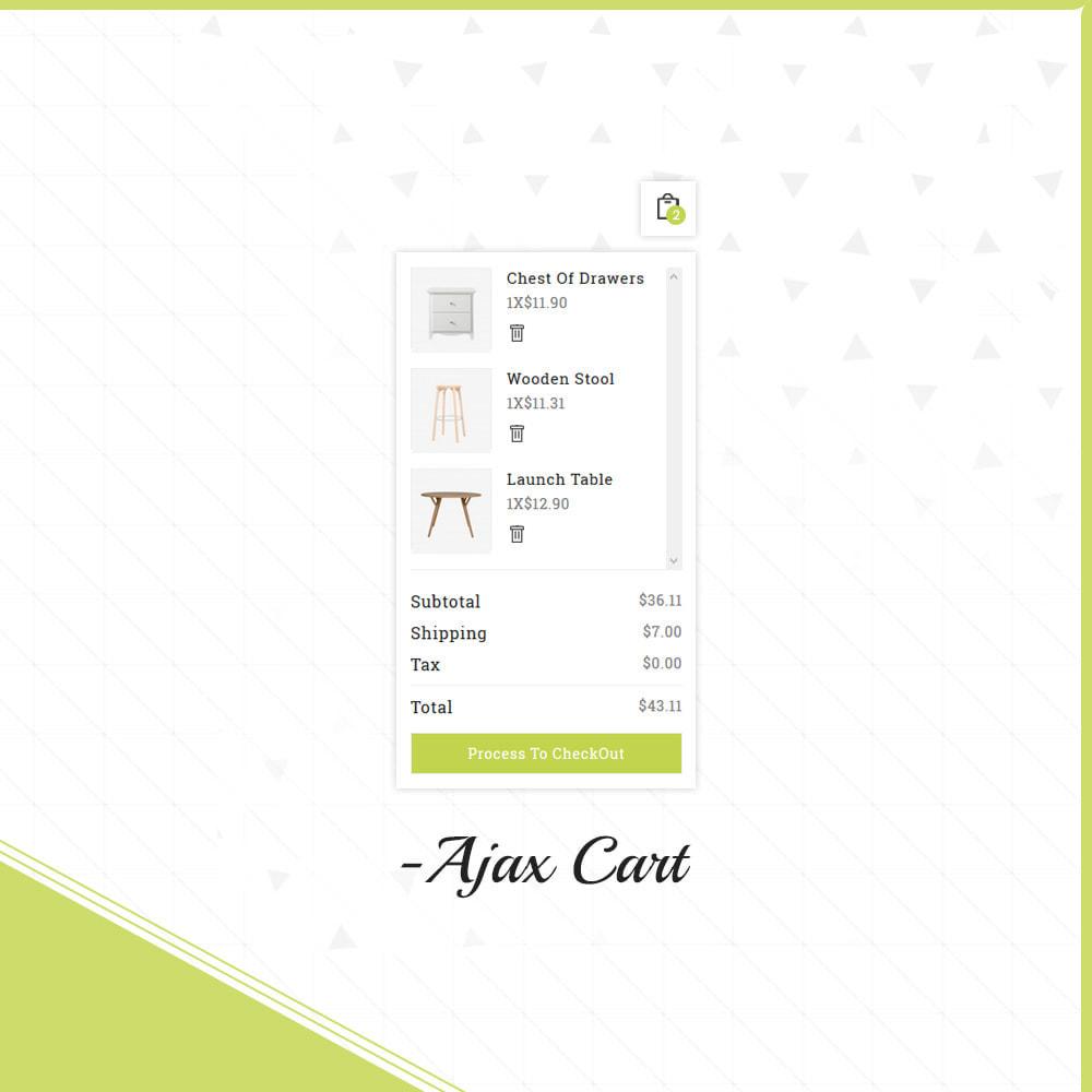 theme - Home & Garden - Wood Ashley- Furniture Shop - 7