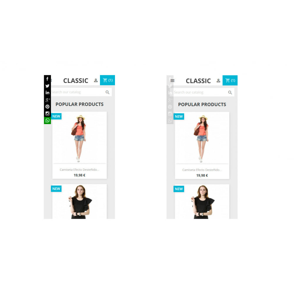 module - Compartir contenidos y Comentarios - Social Tech (social networks+Whatsapp+Skype) - 4