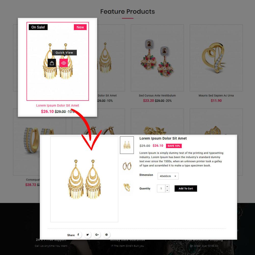 theme - Bijoux & Accessoires - Jwellery Shop - 8
