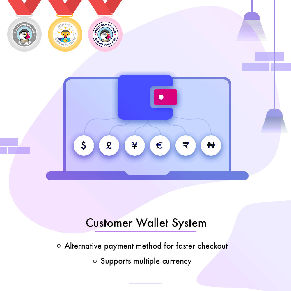 module - Payment by Card or Wallet - Customer Wallet System - 1