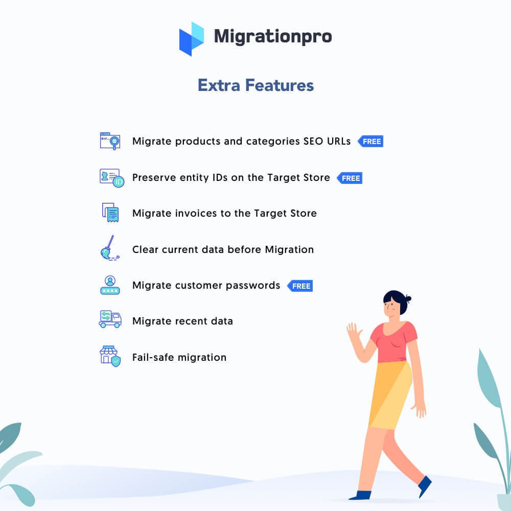 module - Migración y Copias de seguridad - MigrationPro: WooCommerce to PrestaShop Migration Tool - 5