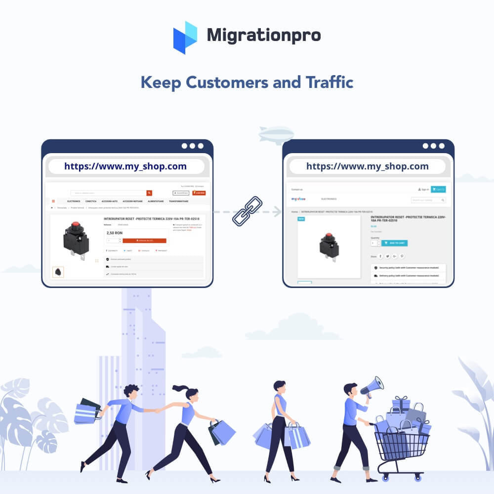 module - Data Migration & Backup - MigrationPro: OpenCart to PrestaShop SEO Redirect Tool - 4
