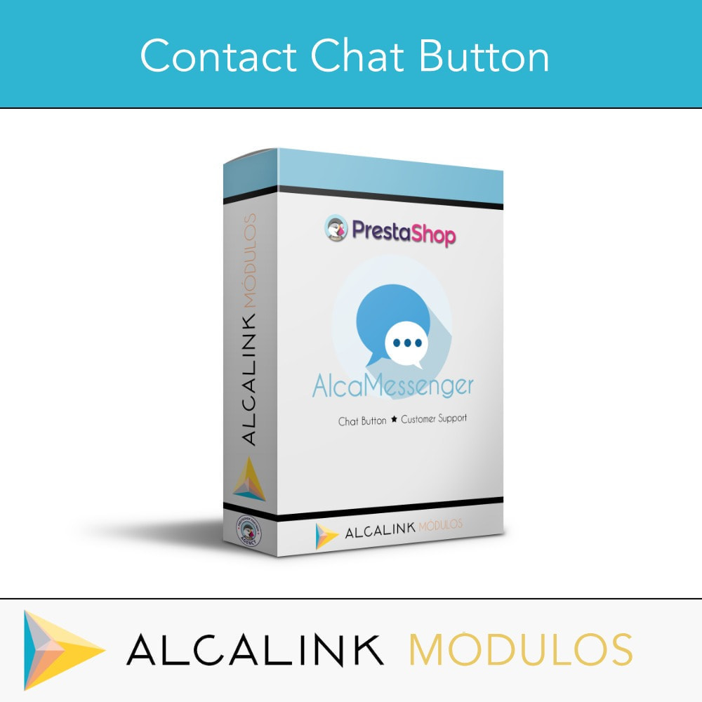module - Suporte & Chat on-line - Contact Chat Button - 1
