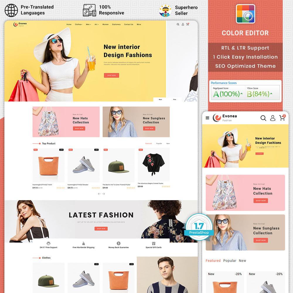 theme - Fashion & Shoes - Evonea - Fashion Store - 1