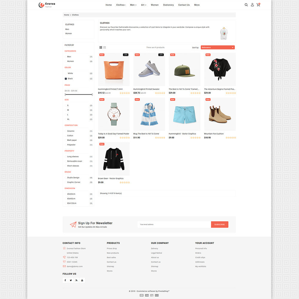 theme - Fashion & Shoes - Evonea - Fashion Store - 5