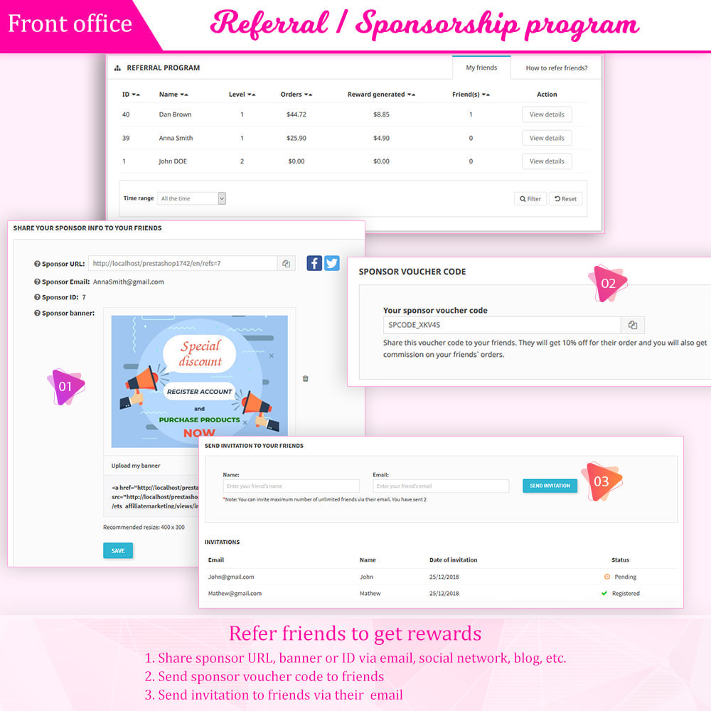 module - Loyaliteitsprogramma - Loyalty, referral & affiliate program (reward points) - 8