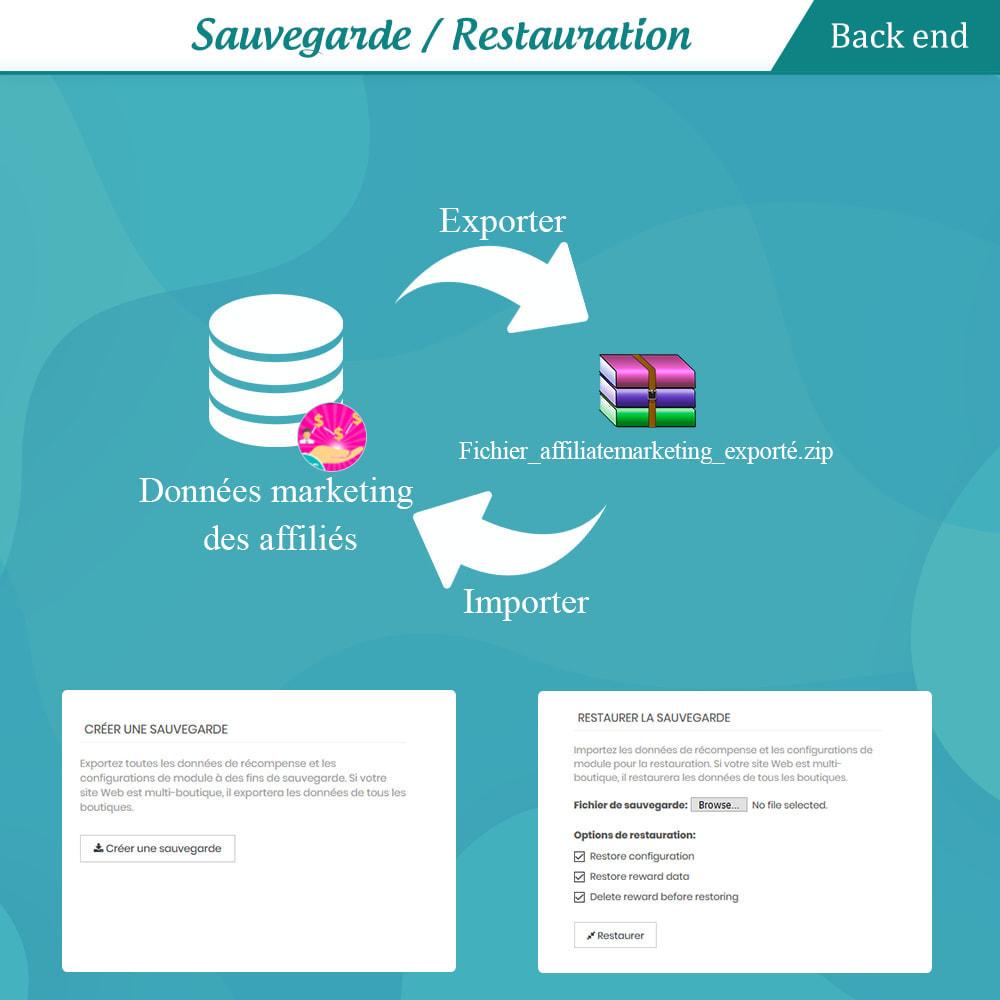 module - Fidélisation & Parrainage - Programmes fidélité, de parrainage et d'associés - 20