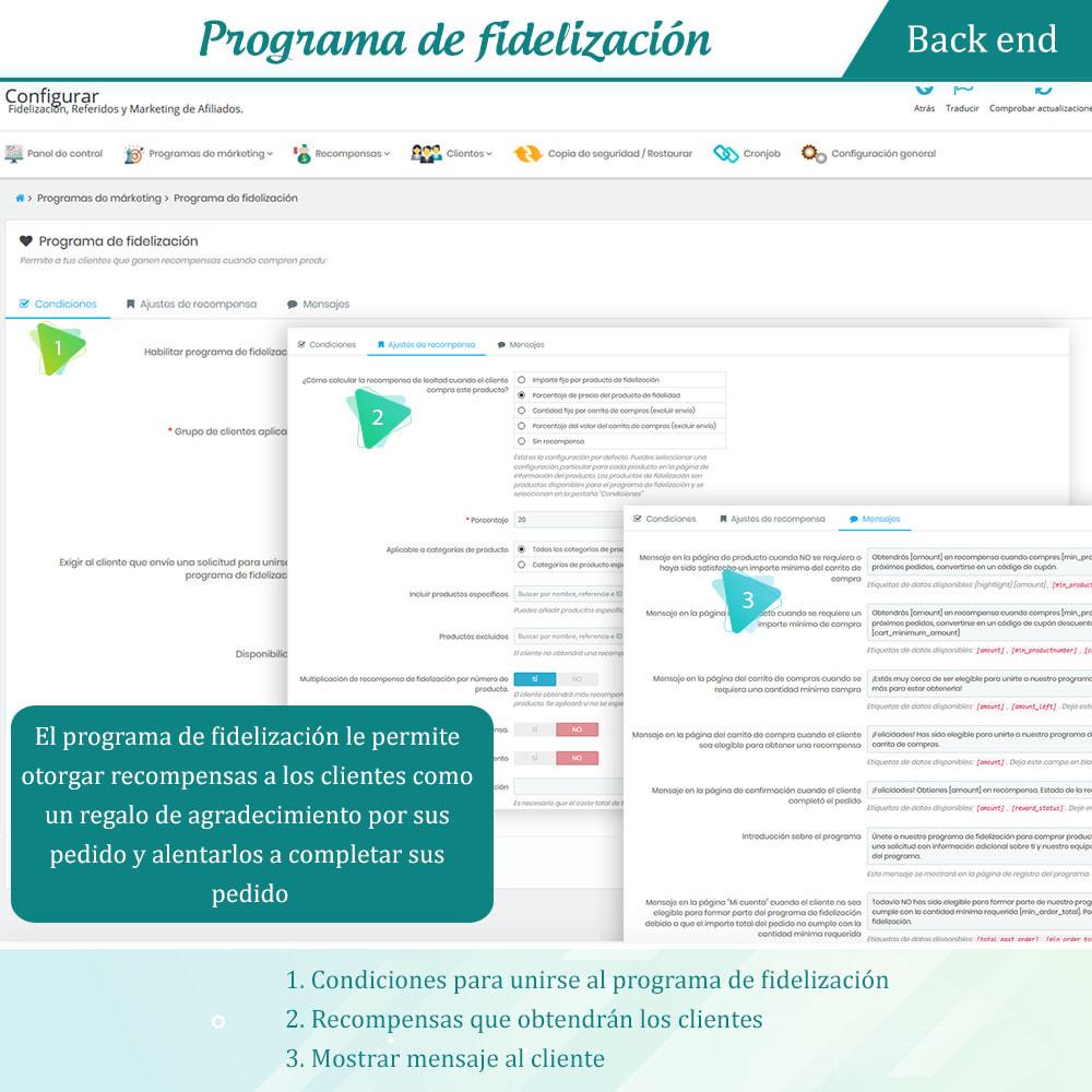 module - Programa de Fidelidad - Lealtad, referidos y afiliación (puntos de fidelidad) - 12