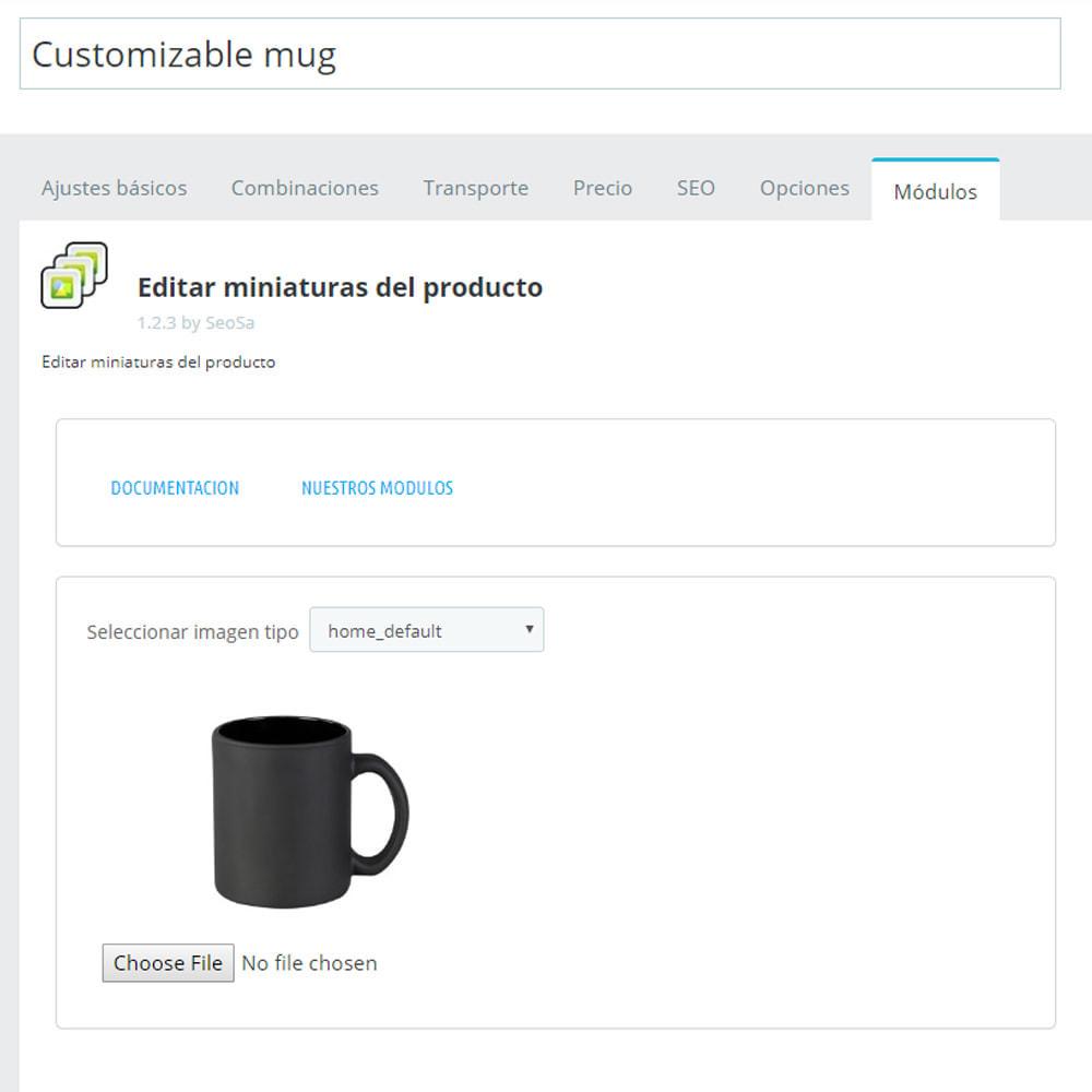 module - Fotos de productos - Editor - sustitución de miniaturas - 5