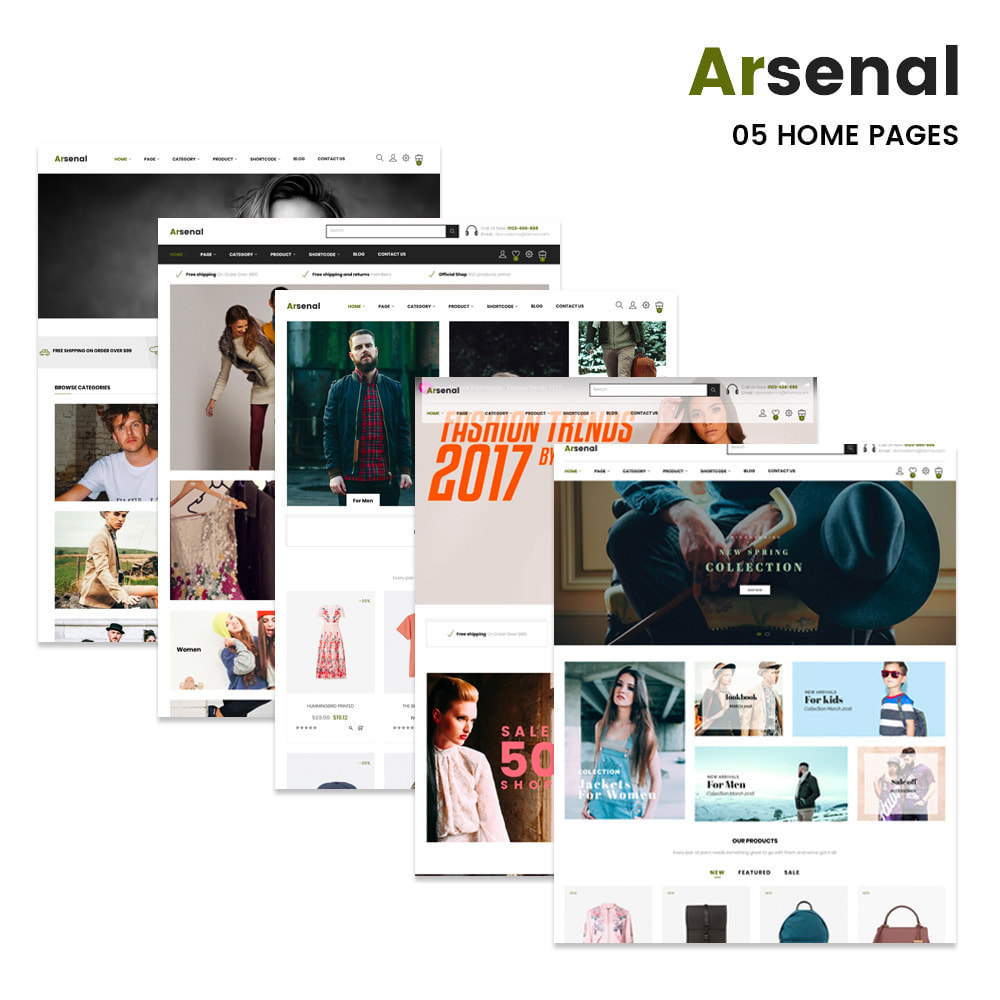 theme - Moda y Calzado - Arsenal Fashion Store - 2