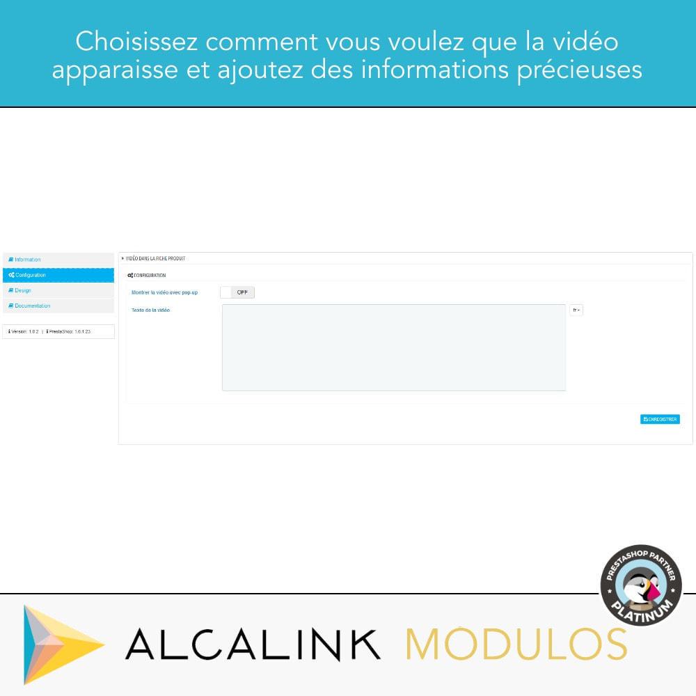 module - Vidéo & Musique - Vidéo sur la Fiche Produit - Youtube, Dailymotion... - 2