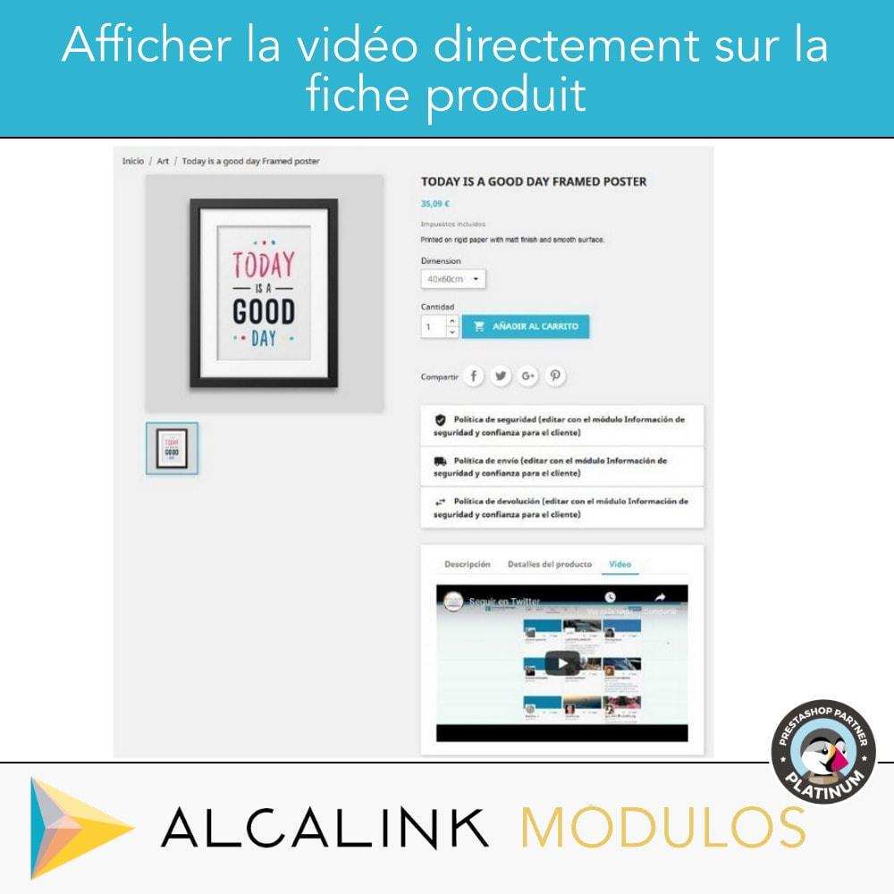 module - Vidéo & Musique - Vidéo sur la Fiche Produit - Youtube, Dailymotion... - 5