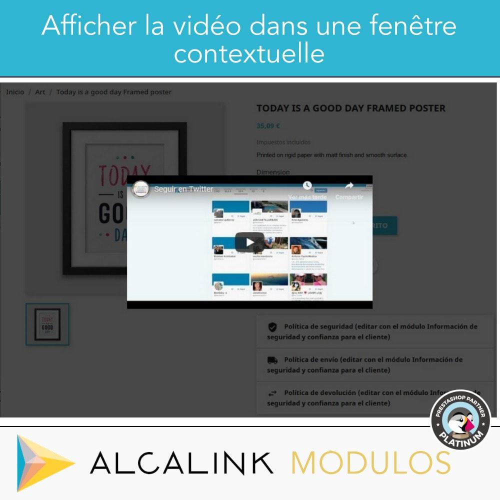 module - Vidéo & Musique - Vidéo sur la Fiche Produit - Youtube, Dailymotion... - 6