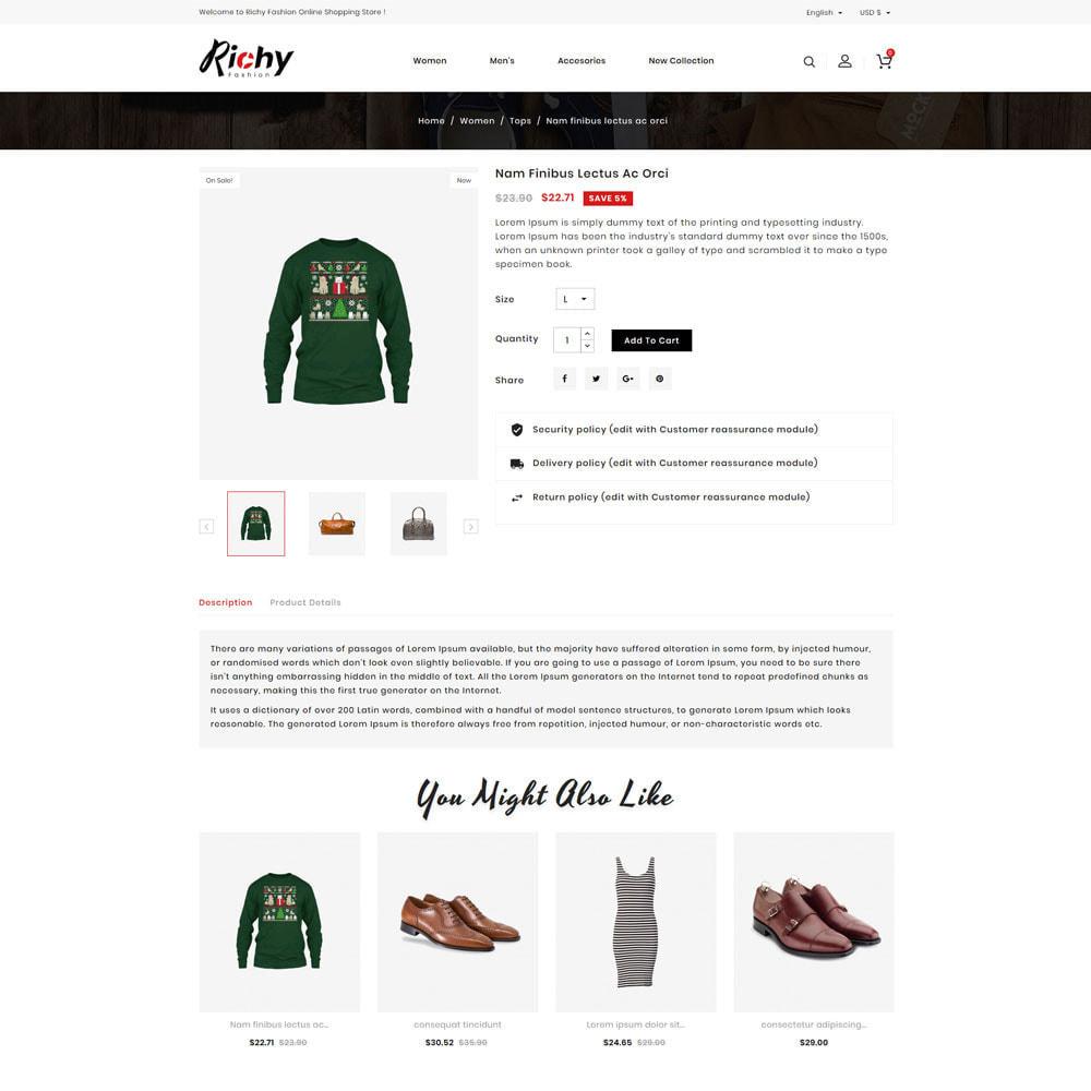 theme - Fashion & Shoes - Richy Fashion Shop - 4