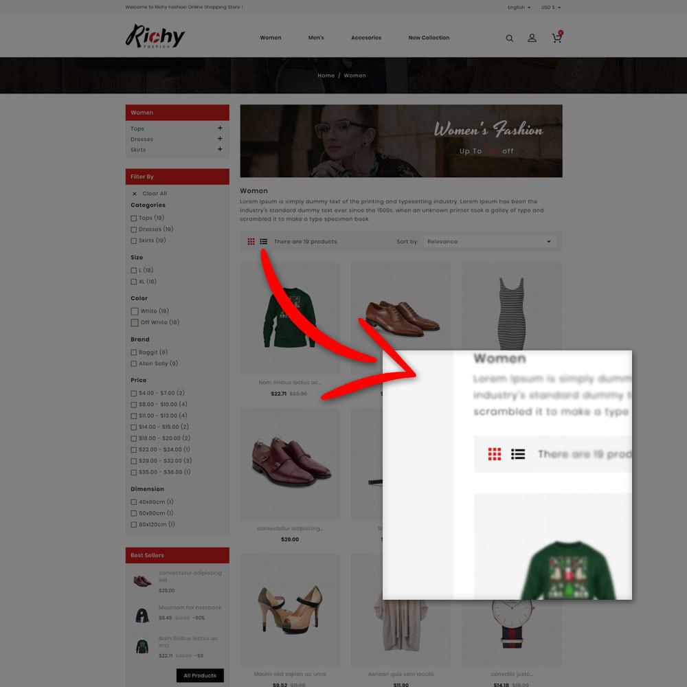 theme - Fashion & Shoes - Richy Fashion Shop - 5