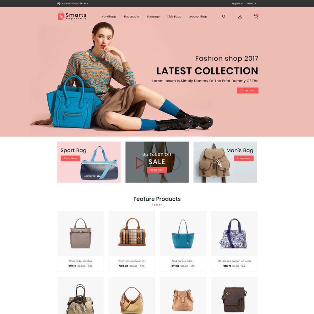 theme - Fashion & Shoes - Smart Bag's Shop - 2