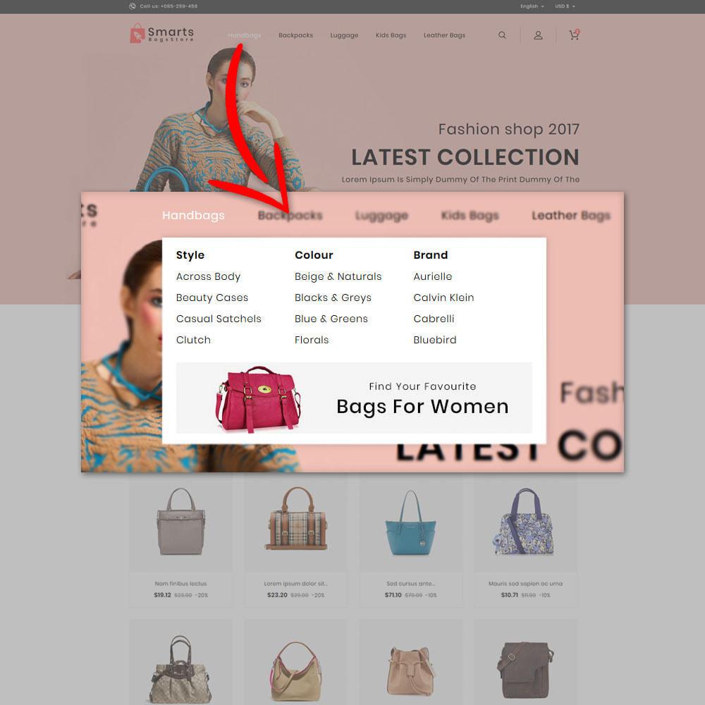 theme - Fashion & Shoes - Smart Bag's Shop - 8