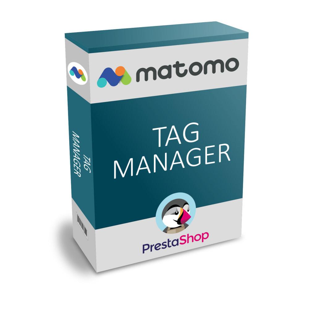 module - Informes y Estadísticas - Matomo tag manager - 1