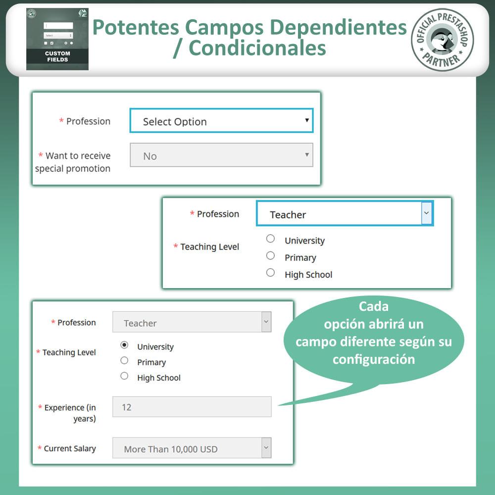 module - Inscripción y Proceso del pedido - Custom Checkout Fields - Campo de Pedido Personalizado - 8