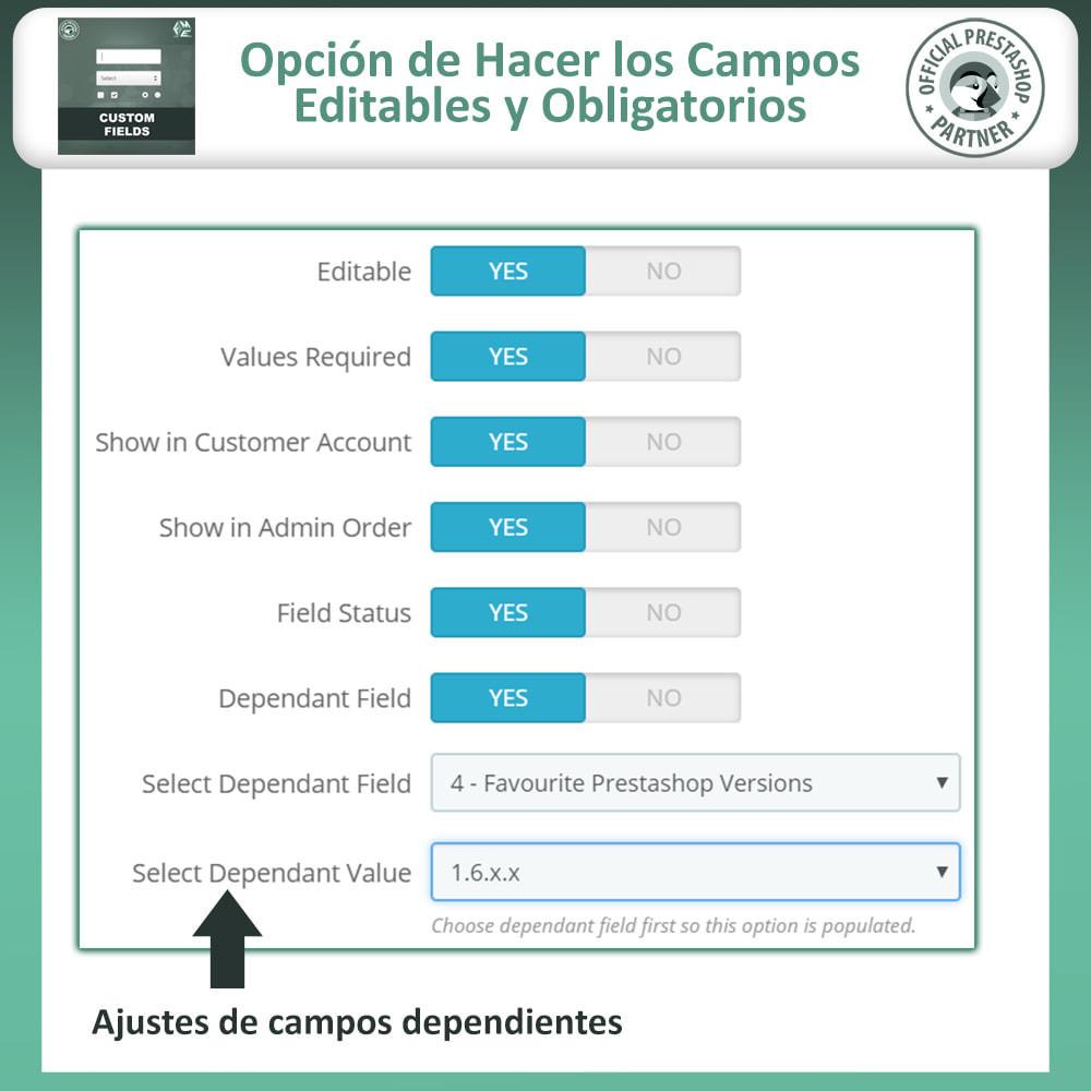 module - Inscripción y Proceso del pedido - Custom Checkout Fields - Campo de Pedido Personalizado - 12