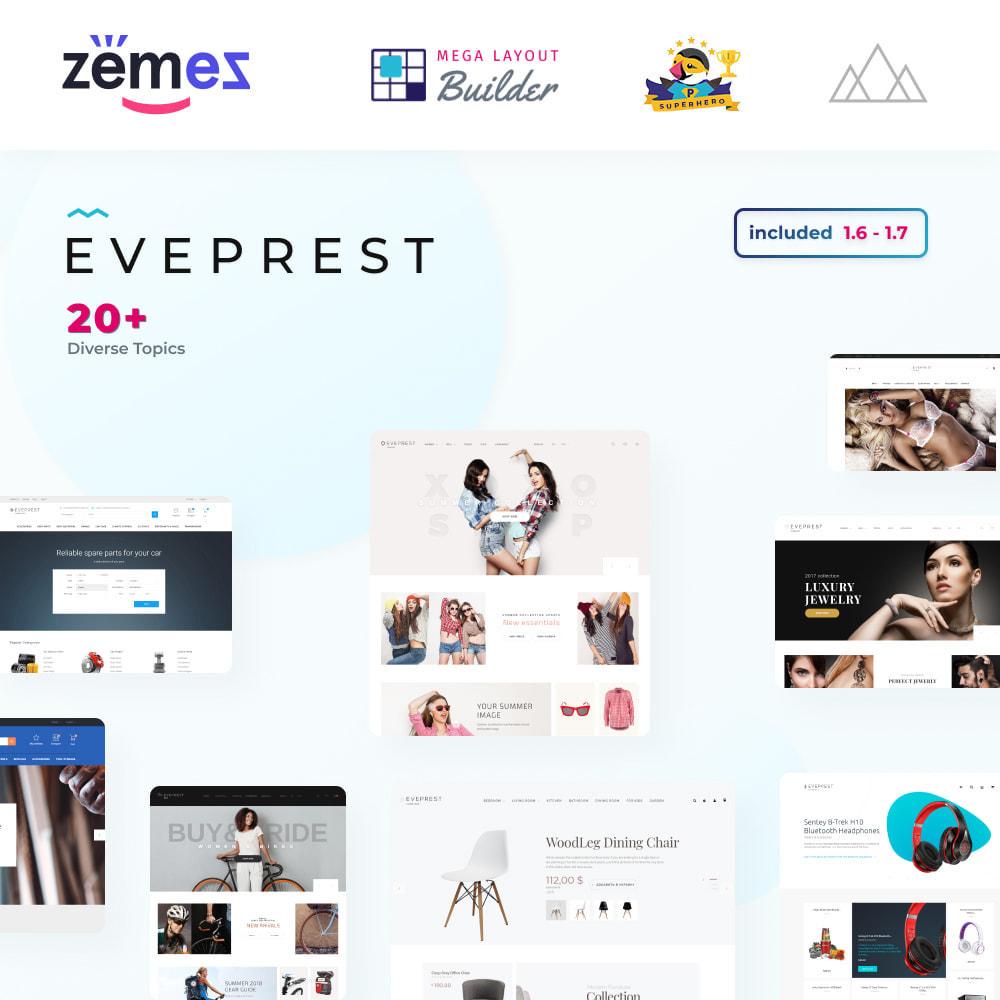 theme - Moda y Calzado - Eveprest - Multipurpose Shop - 1