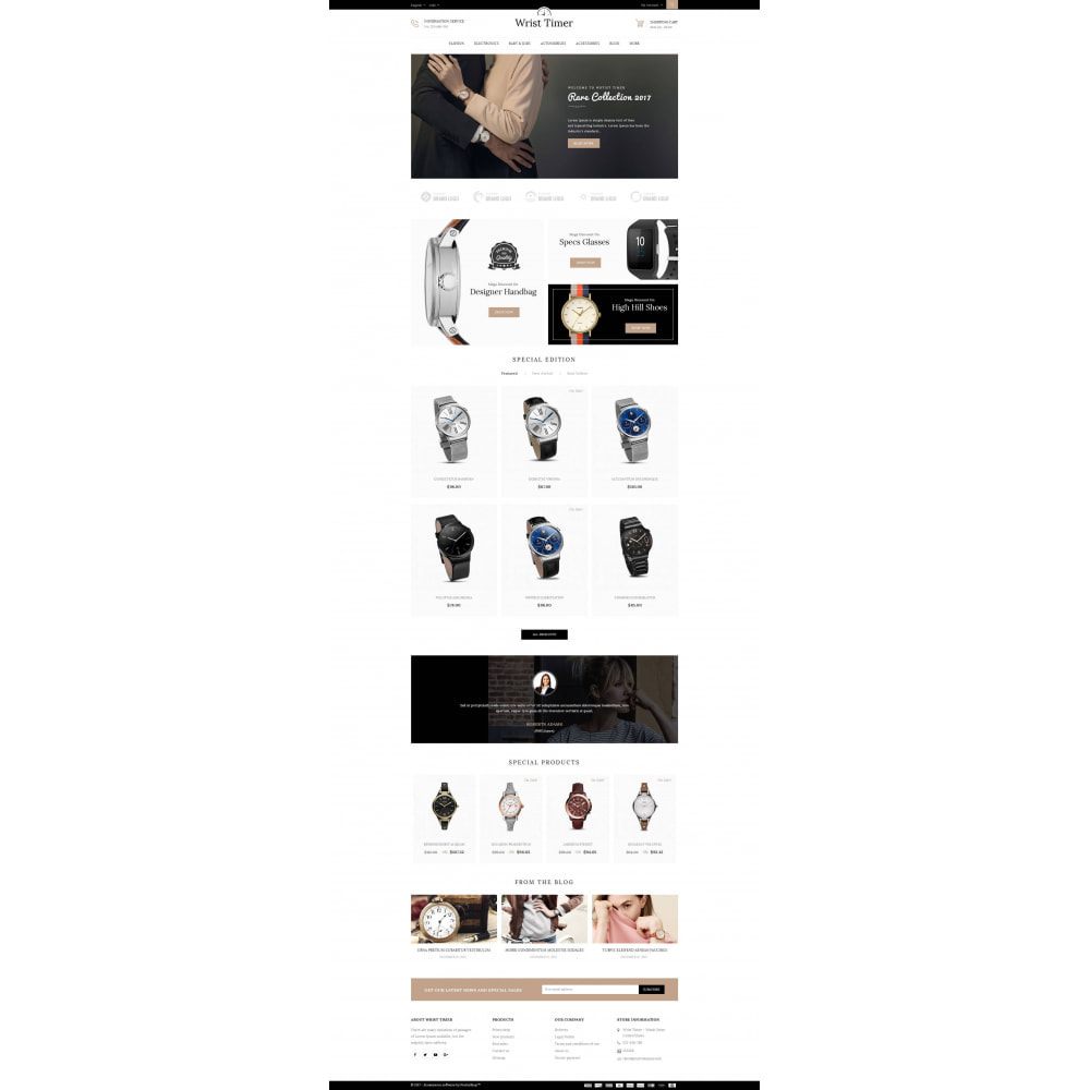 theme - Joalheria & Acessórios - Wrist Timer - Watch Store - 2