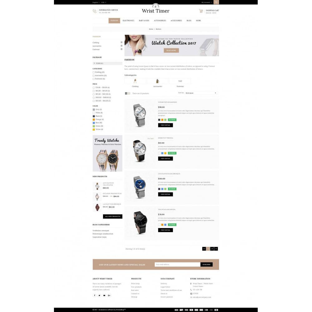 theme - Joalheria & Acessórios - Wrist Timer - Watch Store - 4