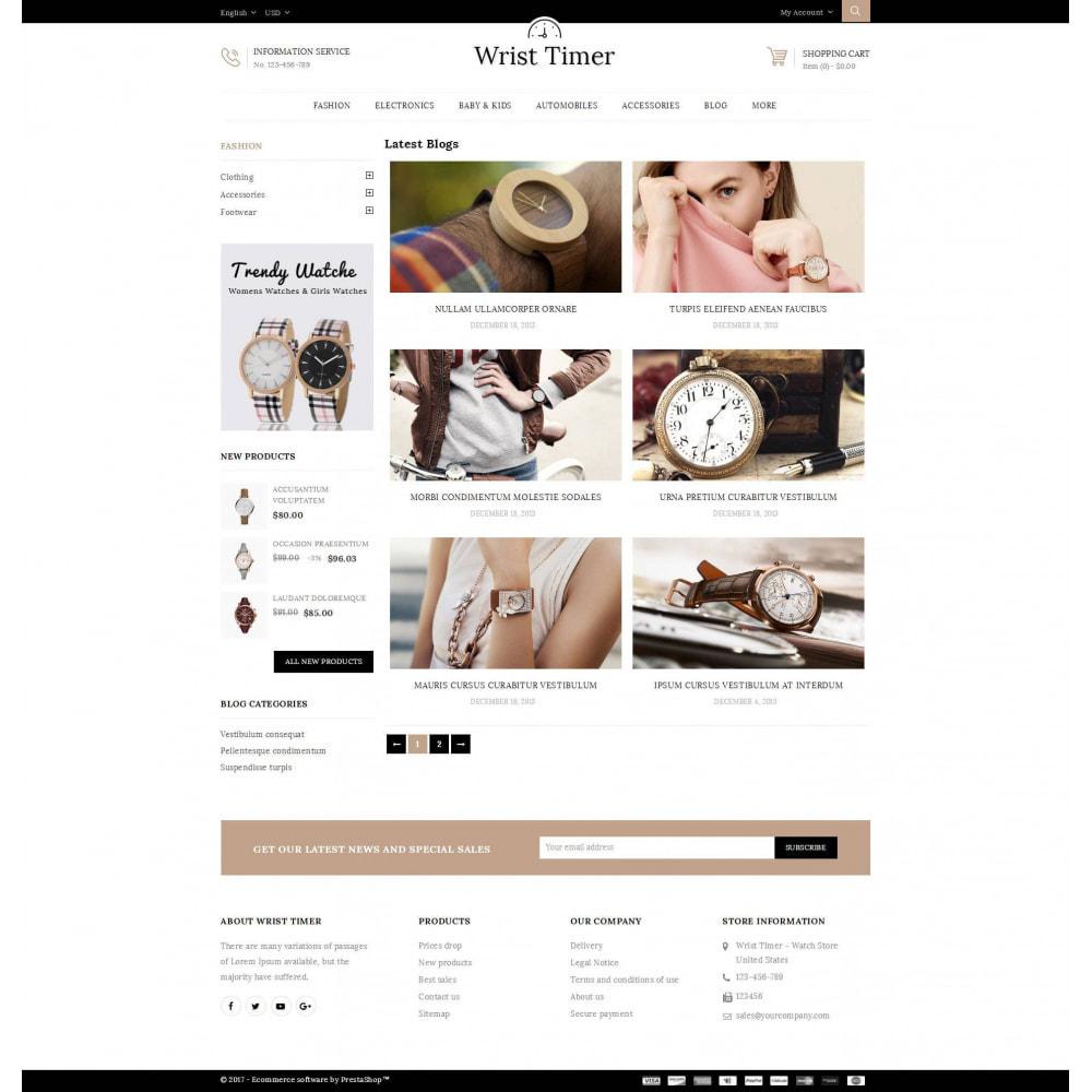 theme - Joalheria & Acessórios - Wrist Timer - Watch Store - 9