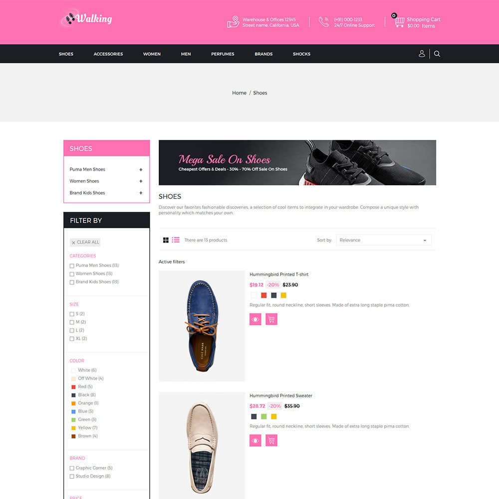 theme - Fashion & Shoes - Shoes Slipper - Footwear Fashion Store - 4