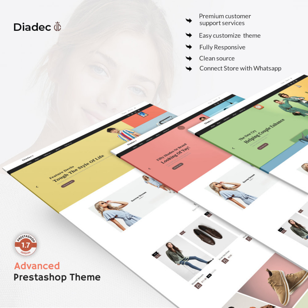 theme - Мода и обувь - Diadec- The Fashion eCommerce Store - 1