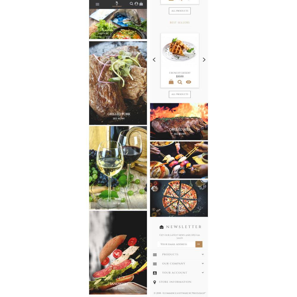 theme - Продовольствие и рестораны - Universal Restaurant - 5