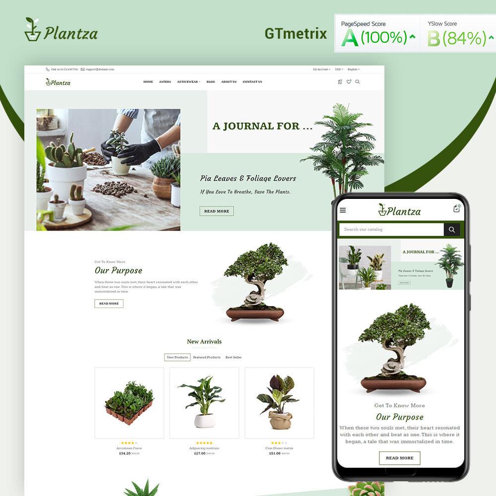 theme - Dom & Ogród - Plantza Plant Store - 1