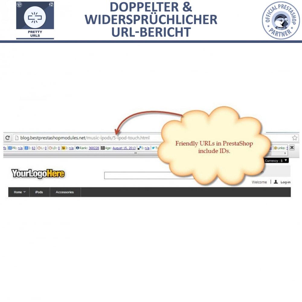 module - URL & Redirects - Pretty URLs – Entfernen Sie ID Nummern von der URL - 10
