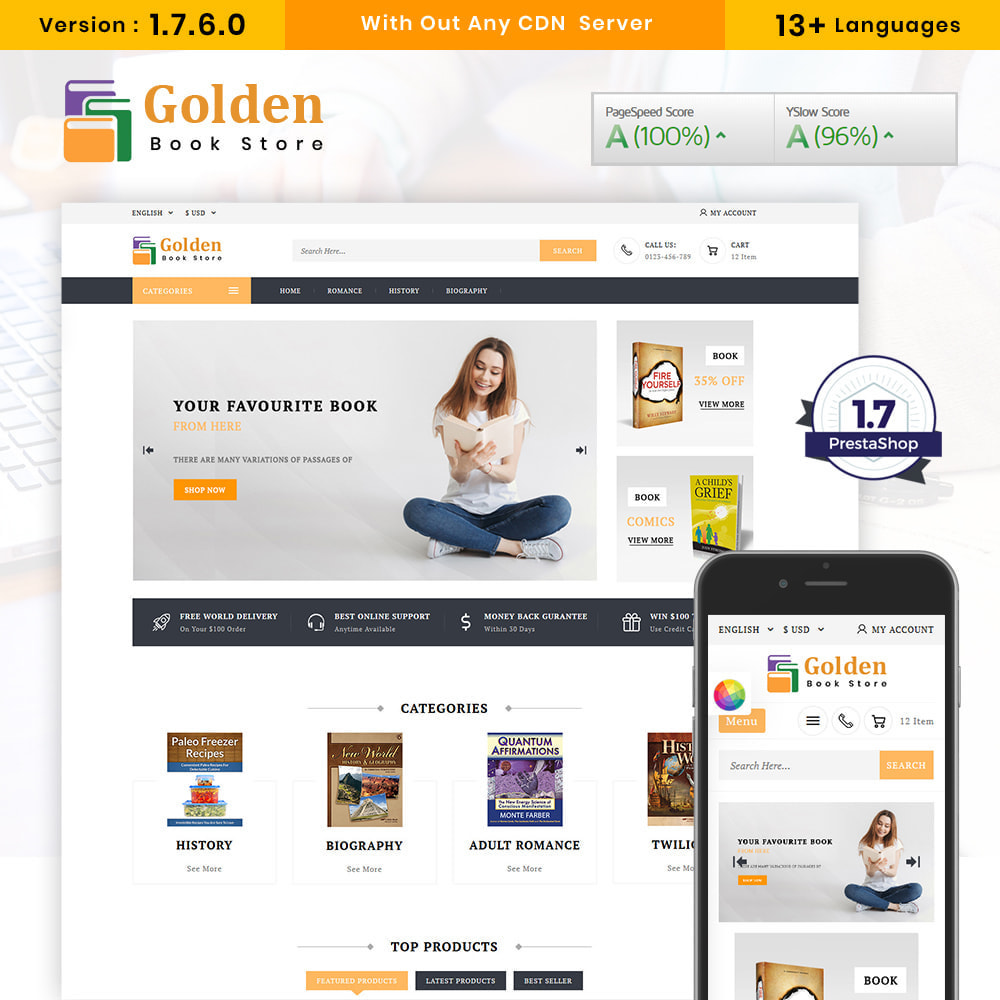theme - Gifts, Flowers & Celebrations - Golden Book Store - 1