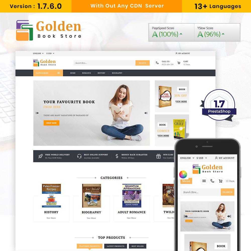 theme - Cadeaux, Fleurs et Fêtes - Golden Book Store - 1
