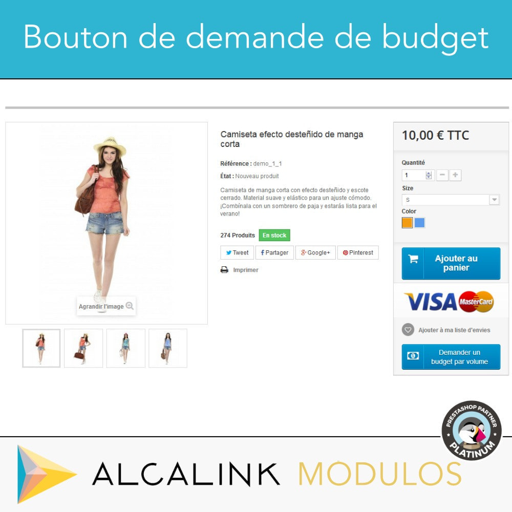module - Tailles & Dimensions - Budget per volume - Achat rapide - 2