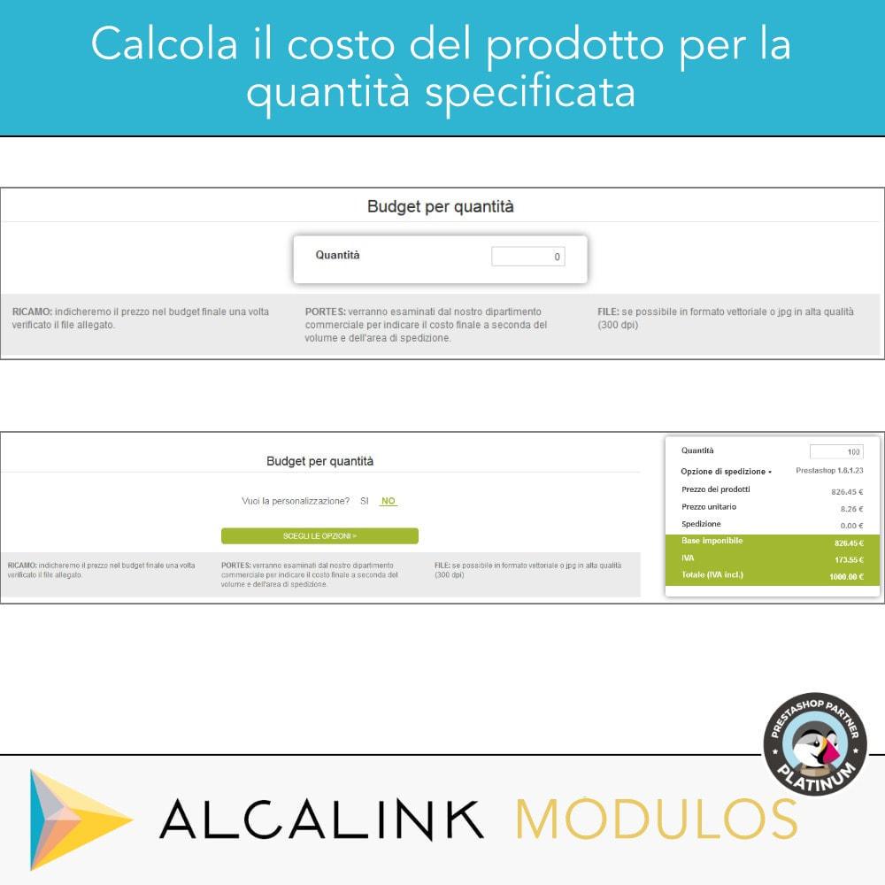 module - Grandezze & Unità di misura - Budget per volume - Acquisto rapido - 4