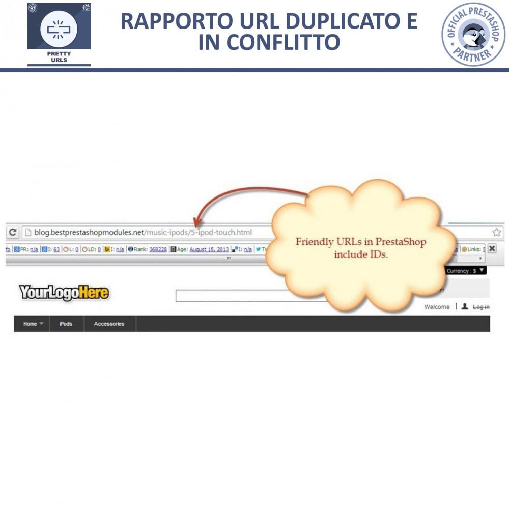 module - URL & Redirect - Pretty URL - Rimuovere ID e Numeri dalle URL - 14