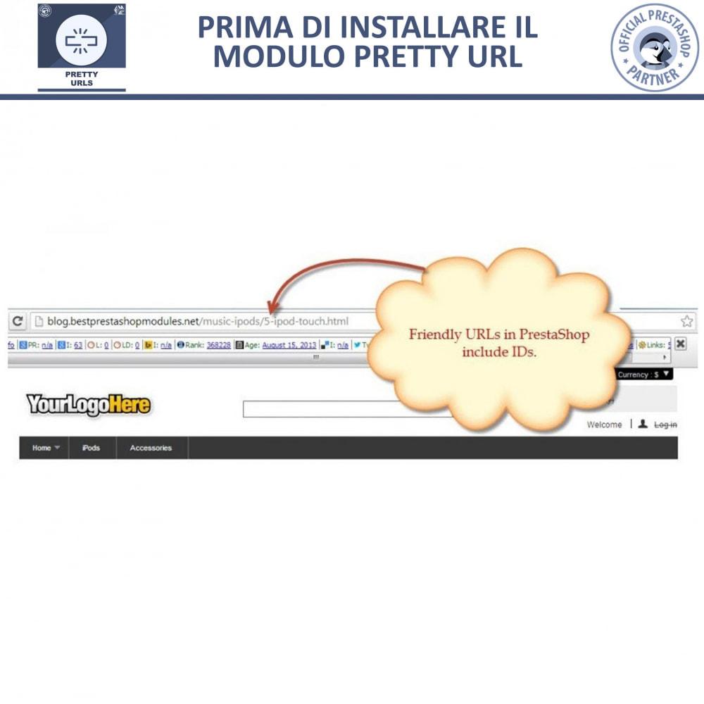 module - URL & Redirect - Pretty URL - Rimuovere ID e Numeri dalle URL - 15