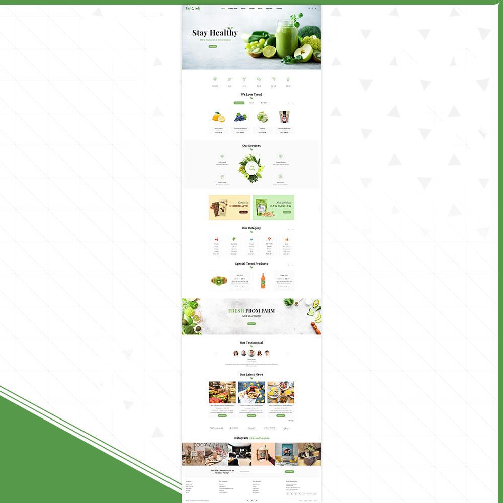 theme - Gesundheit & Schönheit - Envioly Grocery –Organic Store - 2