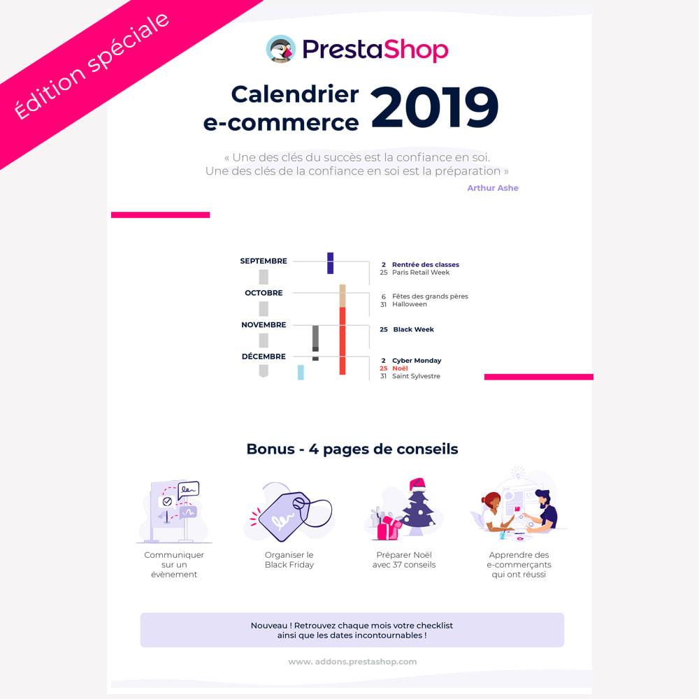 other - Calendrier e-Commerce - Guide et Calendrier e-commerce 2019 de fin d'année - 1