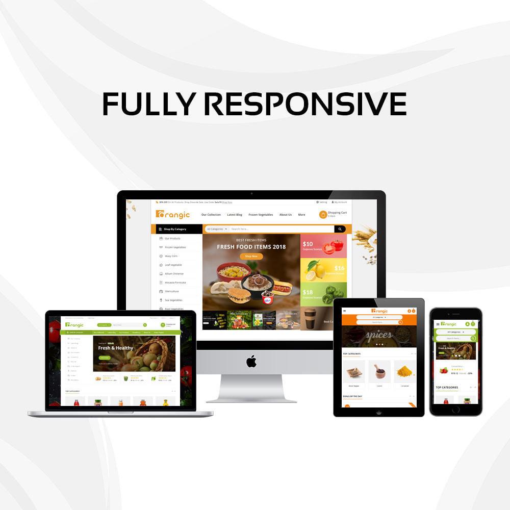 theme - Cibo & Ristorazione - Orangic - Il negozio di alimentari - 4