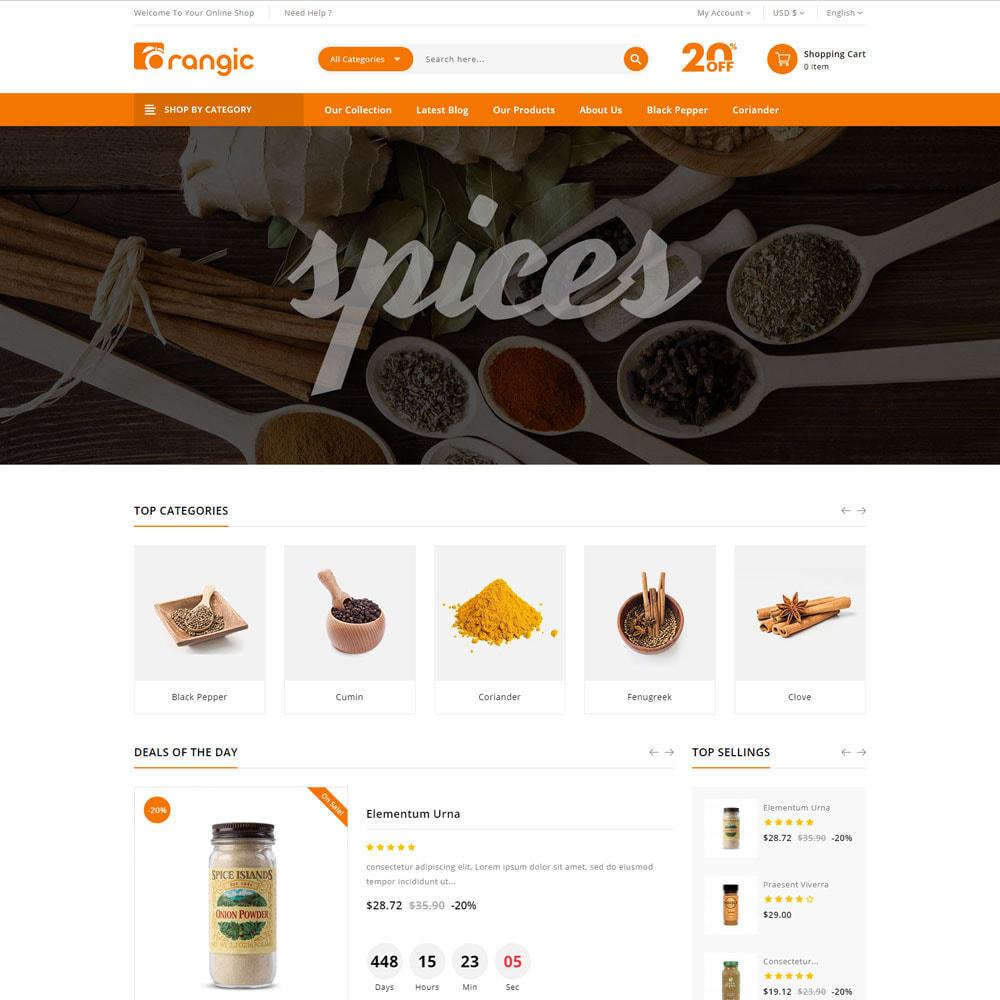 theme - Cibo & Ristorazione - Orangic - Il negozio di alimentari - 6